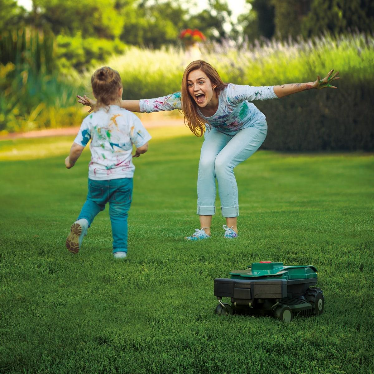 Kosiarki automatyczne - Roboty Ambrogio - Domo - Roboty koszące - Kosiarki Ambrogio